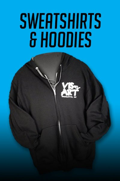 shop visart video sweatshirts and hoodies category